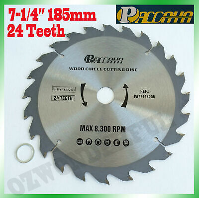 "Circular Saw Blade(185mm) 7-1/4""x40 Teeth Timber Aluminum Alloy Plastic Cutting"