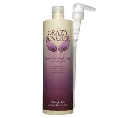 Crazy Angel Midnight Kiss Self-Tanning Lotion 8% DHA Medium/Dark 200ml