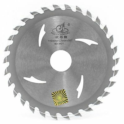 """4"""" inch 110mm x 20/16mm Bore x 30T TCT PRO CIRCULAR Saw Blade For Wood Cutting"""
