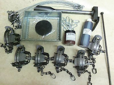 Duke #2 O/S Coil Spring Coyote Trapping Package  Fox Coyote Raccoon Trapping