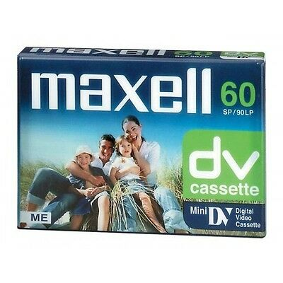 Lote De 10 Cintas Maxell Mini-Dv 60 Min, Video Camara Mini Dv