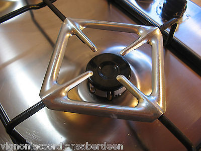 Italian Moka Coffe pot stand Gas Hob Cross Support Trivet Espresso 13.5cm wide