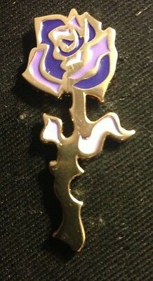 Grateful Dead-Rose Pin Purple/Gold Variant  Limited edition Sold Out