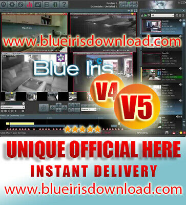 BlueIris Pro v4  (OFFICIAL) www.blueirisdownload.com Camera Security Software