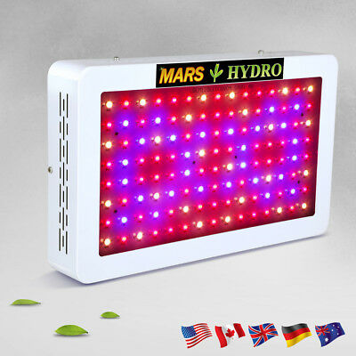 LED Grow Light Panel Full Spectrum Indoor Medical Hydroponics 600W Plant System