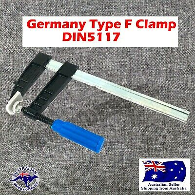 4 PCS Paccaya 120 x 300mm F Clamps Germany Type F Clamps High Quality