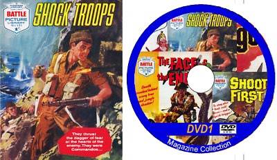 Rover, Victor & Warlord on a DUAL LAYER DVD 255 issues includes viewing software