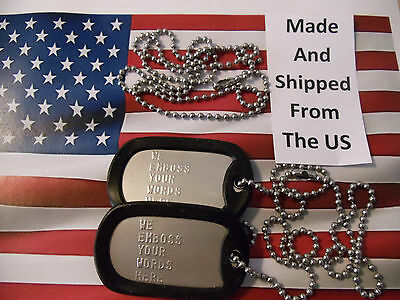 2-military personalized dog tags-2 custom military dog tags-2 army dog tags