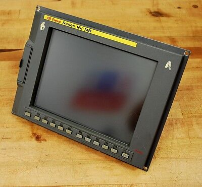 Fanuc Series 16i-MB A02B-0281-B502 Servo Control, New Display & 7 Boards