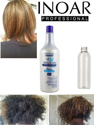 Inoar Afro Brazilian Keratin Treatment Blow Dry Hair Straightening  200Ml Kit