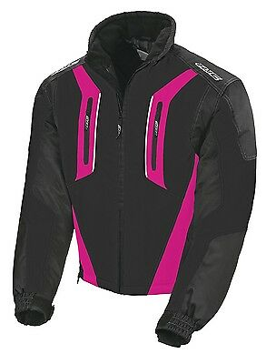 HJC Snowmobile Snow Storm Jacket Black Pink Ladies XL Extra Large Waterproof