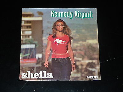 45 tours SP - SHEILA - KENNEDY AIRPORT - 1978