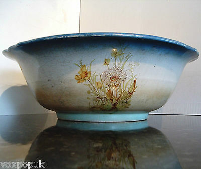 STAFFORDSHIRE LARGE VINTAGE WASHBOWL