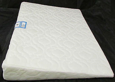Baby Breath Easy Sleep Wedge Pillow - 600mm Wide Cot Size -Helps Colic Reflux