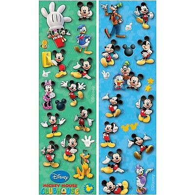 Mickey Mouse Clubhouse Birthday Party Sticker Strips 8 pc