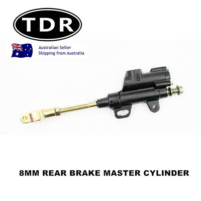 Pit Dirt Bike Hydraulic Rear Brake Disc Master Cylinder 8mm 110cc 125cc 140cc