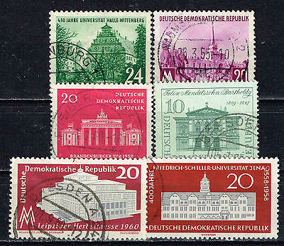 Germany Architecture Famous Buildings stamps