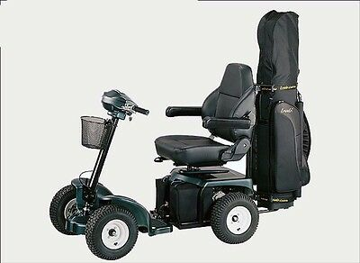 EziCaddy Bronco One Seat 4 wheel Golf Scooter with Batteries and charger