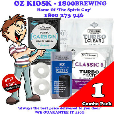 CLASSIC 6 TURBO YEAST COMBO PACK @ $23.99 each *** NEW PRODUCT RELEASE ***