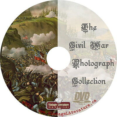 Photographic History of The Civil War {5000 Photos} DVD