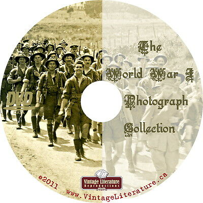 The World War One Photograph Collection on DVD