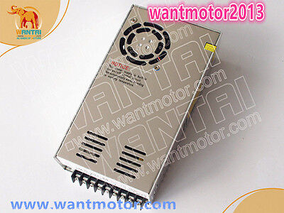 1PC 350W ,36VDC Power Supply 9.83A for Nema23 Stepper motor&Driver CNC Router