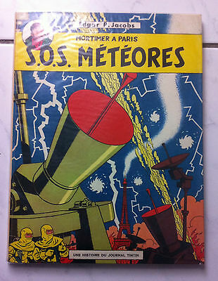 "EO BLAKE ET MORTIMER T7b ""SOS METEORES"" - JACOBS- ED° LOMBARD 1967"