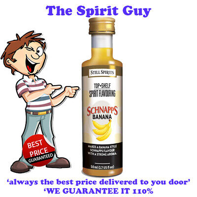 BANANA SCHNAPPS LIQUEUR ESSENCE @ $6.49 each By STILL SPIRITS - 35122