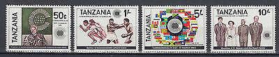 Tansania 221 - 224 Commonwealth - Tag postfrisch