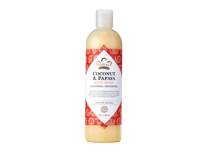 Coconut & Papaya Body Wash Nubian Heritage 13 oz Liquid