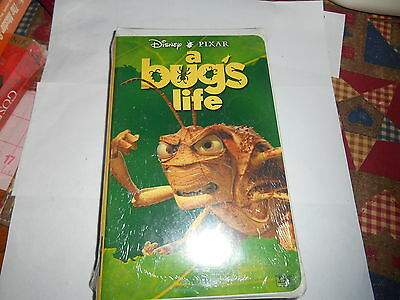 NEW RARE 1999 A Bug's Life Clamshell Disney Pixar Sealed Film Movie VHS Tape OOP