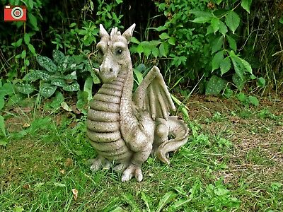 WINGED DRAGON, GREEN SHADE, INDOOR/OUTDOOR, VERY CUTE, GARDEN OR INDOOR etc.