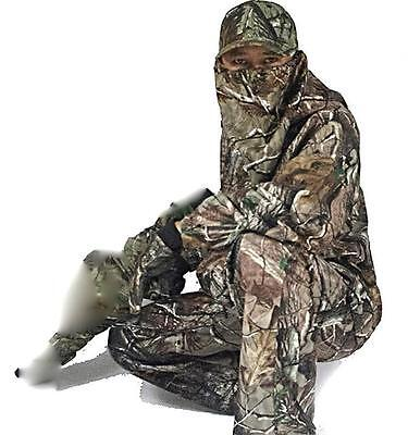 Waterproof Camouflage Hunting Clothes Sniper Tactical Ghilie Suit Jacket Pants
