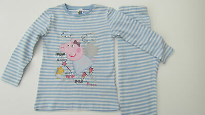 Girls Pyjamas Pj Set Peppa Pig Snow Princess / Smile Dream New Ages 1 2 3 4 5 6