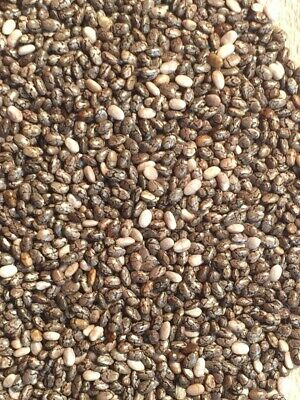 NATURAL RAW CHIA SEED ORGANICALLY SOURCED WEIGHTLOSS DETOX CLEANSE OMEGA3 1kg2kg