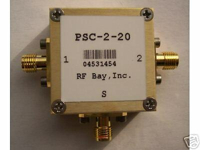 20-2000MHz 2-Way Power Splitter PSC-2-20,New, SMA