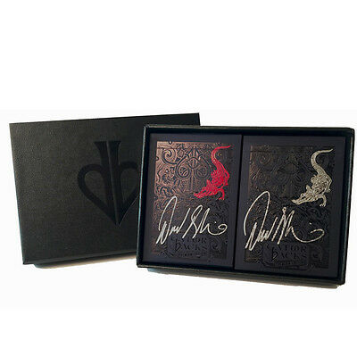 Autographed Metallic Red And Black Gatorbacks Collector's Set New