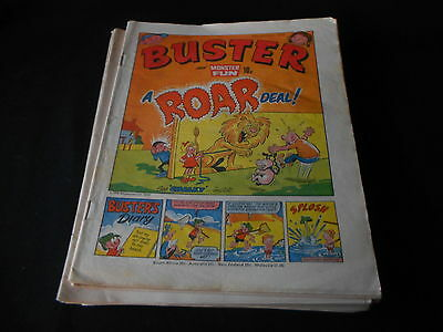 Buster Comic 25th August 1979