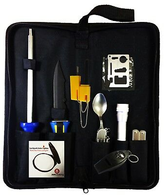 OUTDOOR SURVIVAL CAMPING EMERGENCY TOOL KIT scouts boating motorhome hiking