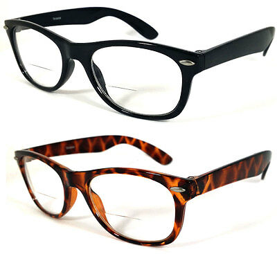 480a1c3476d Small Square Frame Men Women Bifocal Vision Reading Glasses RE41 +1.25 to  +2.00