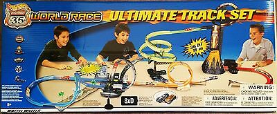 2003 Hot Wheels RLC Highway 35 World Race Motorized Ultimate Track NIB ~ VIDEO!