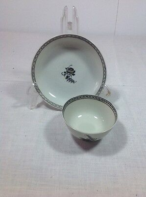 18Th. Century Export Ware Cup And Saucer