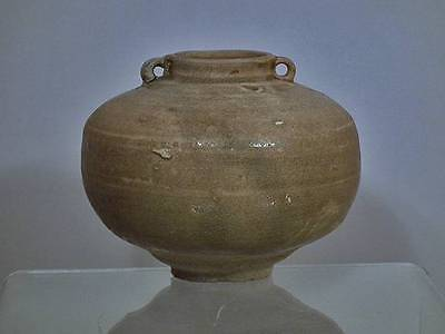 Ancient Chinese Jin Dynasty Yue Ware Celadon Jar 265-420 AD