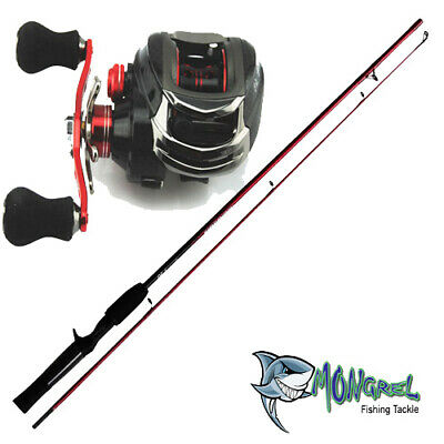 New Baitcaster Rod & Reel Combo 1.7 meter Bait Caster great for kayak fishing
