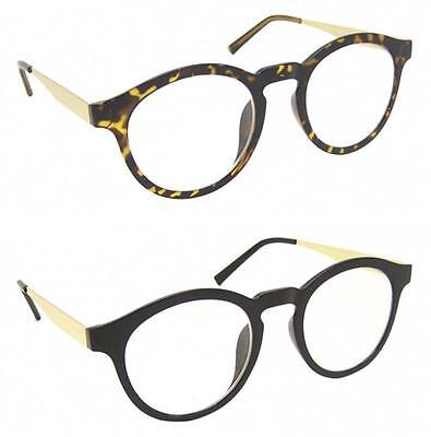 Qulaity Vintage Fashion Cat Eye Clear Lens Glasses Keyhole 1950's Optical Frame