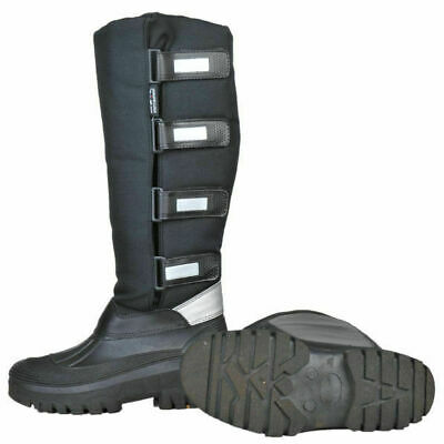 NEW HKM Black Thermo Kodiak Horse Riding Muck Boots - All Sizes