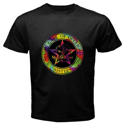 SISTERS OF MERCY Retro Rock Band Greatest Hits Men's Black T-Shirt Size S to 3XL
