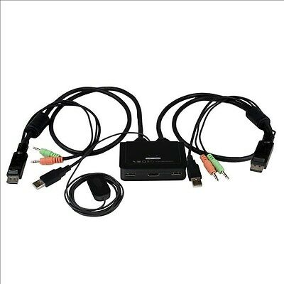 Kvm 664 2 Port Usb Kvm Switch With Built In Cables