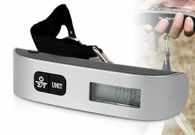 50kg/10g Weight Hanging Handheld LCD Digital Travel Luggage Scale