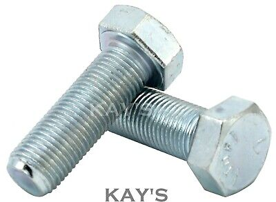 Unf Bolts Fully Threaded Hexagon Set Screws Zinc Plated 1/4,5/16,3/8,7/16,1/2""